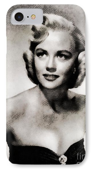 Dorothy Malone, Vintage Actress By John Springfield IPhone Case