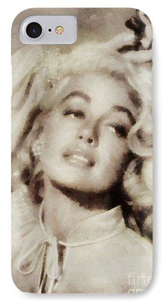 Dorothy Malone, Vintage Hollywood Actress IPhone Case
