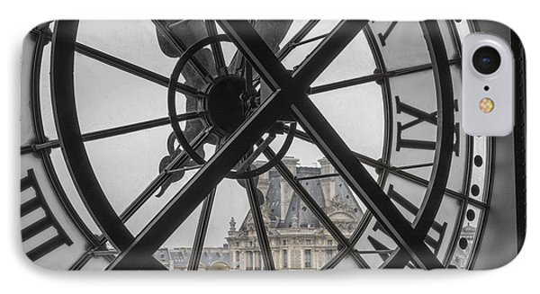 D'orsay Clock Paris IPhone Case by Joan Carroll