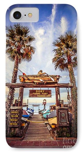 Dory Fishing Fleet Market Picture Newport Beach Phone Case by Paul Velgos