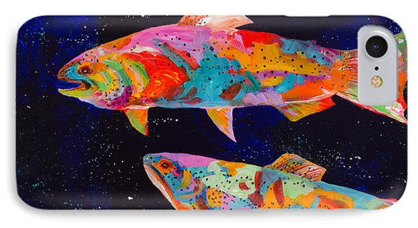 Dos Brown Trout Phone Case by Tracy Miller