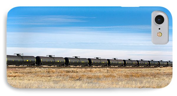 Dot-111 Tank Cars IPhone Case by Todd Klassy