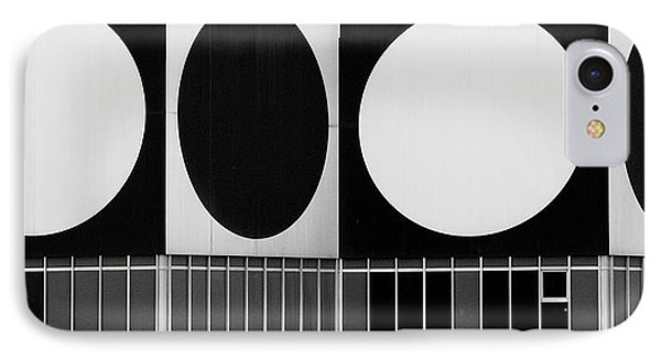 Dot Building IPhone Case by Matthew Bamberg