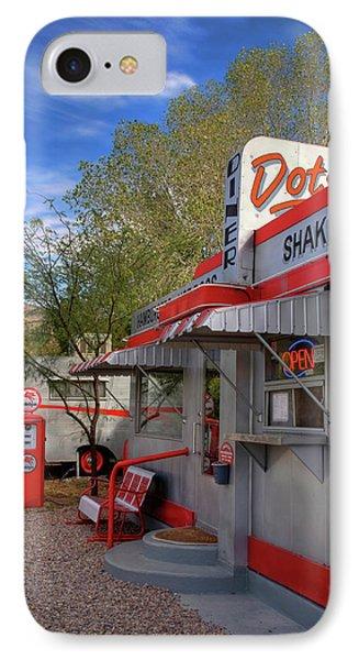Dot's Diner In Bisbee IPhone Case