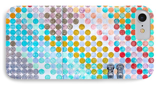 Dots, Many Colored Dots IPhone Case by Todd Klassy