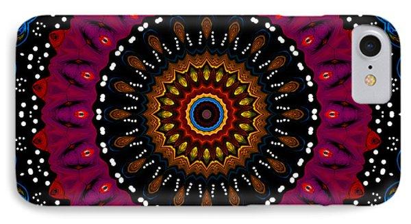 Dotted Wishes No. 5 Kaleidoscope Phone Case by Joy McKenzie