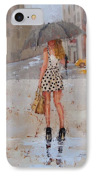 Street iPhone 7 Case - Dottie by Laura Lee Zanghetti