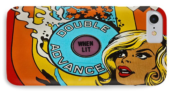 Double Advance - Pinball IPhone Case