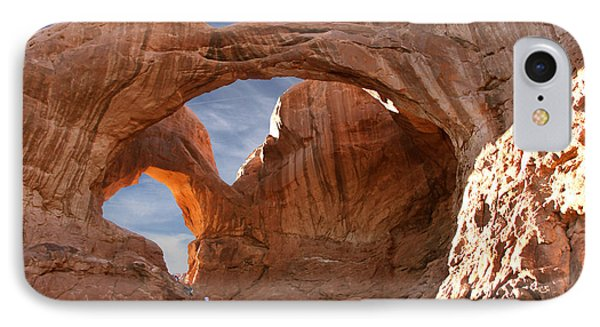 Double Arch In Late Afternoon Phone Case by Mike McGlothlen