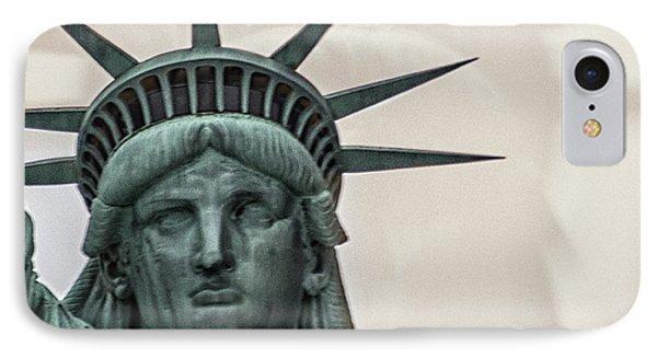 Double Exposure Liberty IPhone Case