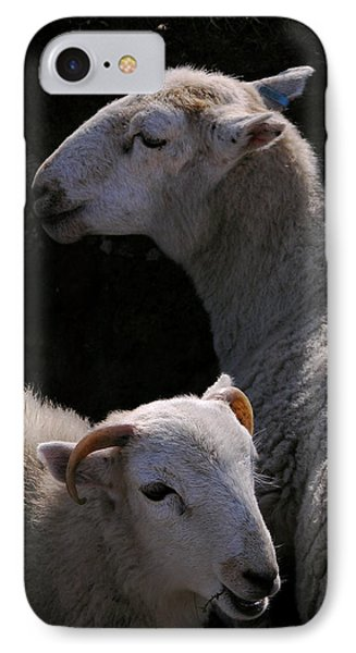 IPhone Case featuring the photograph Double Portrait by Harry Robertson