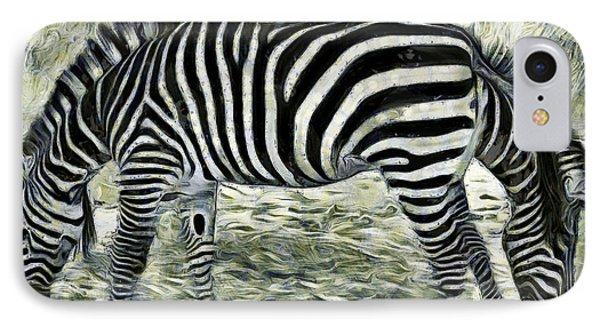 Double Side - Da IPhone Case by Leonardo Digenio