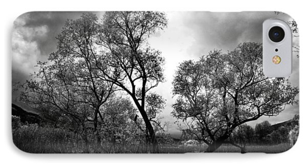 Double Tree IPhone Case