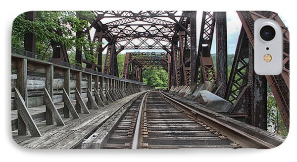Double Truss Bridge #1679 On The Wmsr IPhone Case