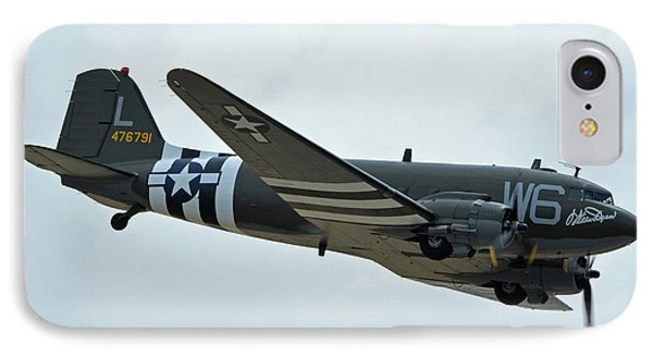Douglas C-47b Dakota N791hh Willa Dean Chino California April 30 2016 Phone Case by Brian Lockett