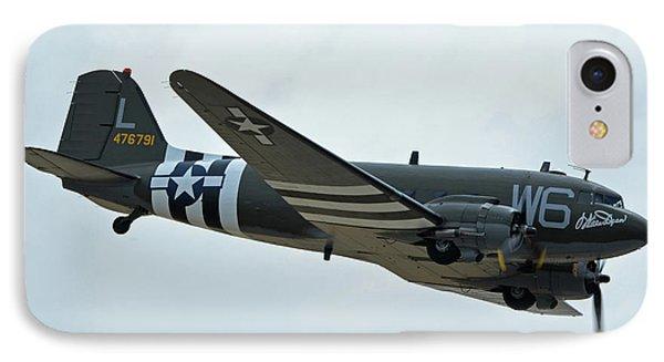 IPhone Case featuring the photograph Douglas C-47b Dakota N791hh Willa Dean Chino California April 30 2016 by Brian Lockett