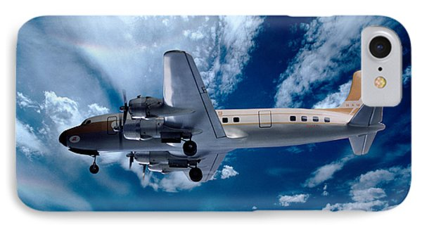 Douglas C-54e - Dc-4, Hk-171 IPhone Case by Wernher Krutein