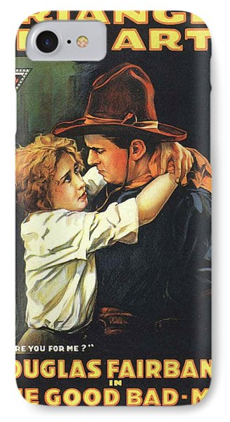 Douglas Fairbanks In The Good Bad Man 1916 IPhone Case by Mountain Dreams