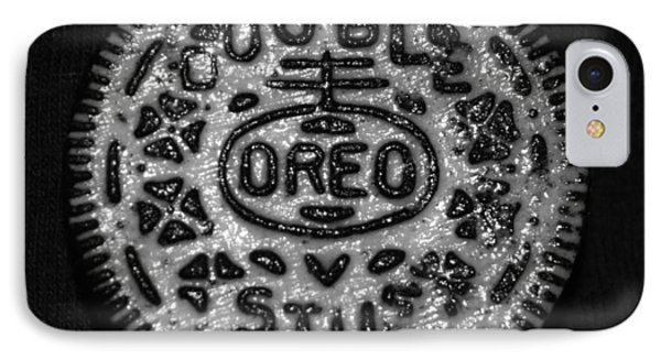 Doulble Stuff Oreo In Black And White IPhone Case by Rob Hans