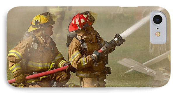 Dousing The Flames IPhone Case