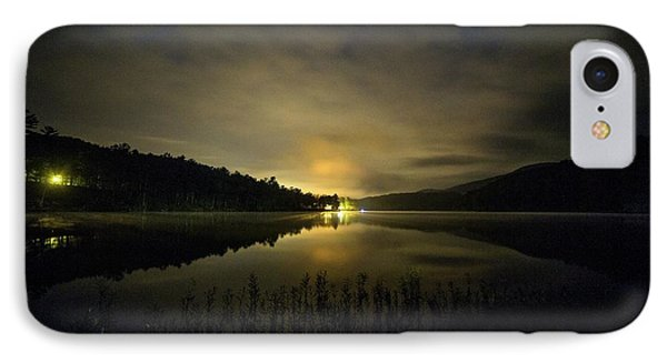 IPhone Case featuring the photograph Douthat Lake Night by Alan Raasch