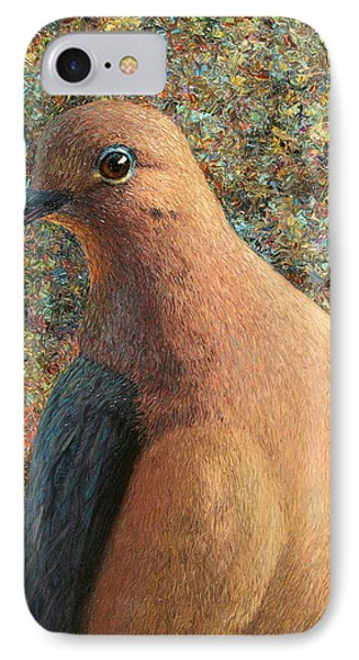 Dove iPhone 7 Case - Dove by James W Johnson