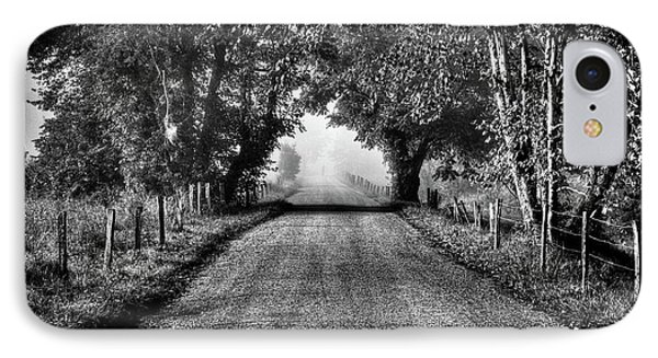 IPhone Case featuring the photograph Down A Lonely Road by Douglas Stucky
