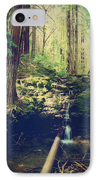 Down At The Old Dam IPhone Case by Laurie Search