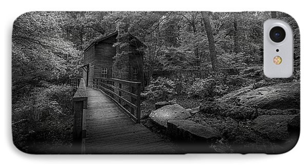 Down By The Mill-bw IPhone Case by Marvin Spates