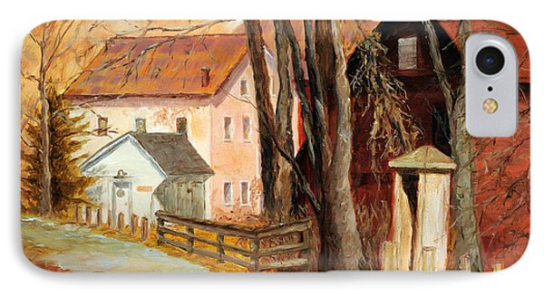 Down By The Mill IPhone Case by Cindy Roesinger