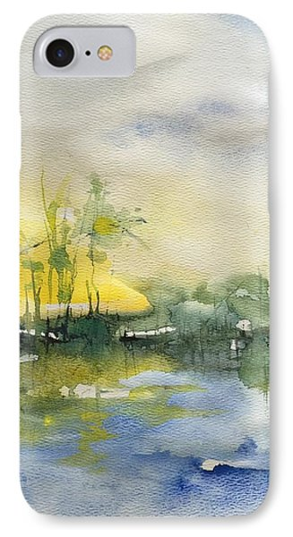 Down By The Riverside IPhone Case by Robin Miller-Bookhout