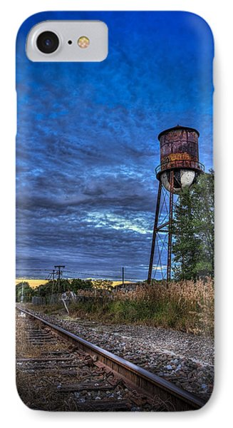 Down By The Tracks IPhone Case by Marvin Spates