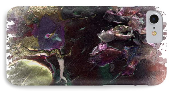 IPhone Case featuring the mixed media Down In The Valley by Angela L Walker
