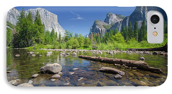Down In The Valley IPhone Case by JR Photography
