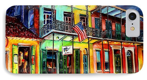 Down On Bourbon Street Phone Case by Diane Millsap