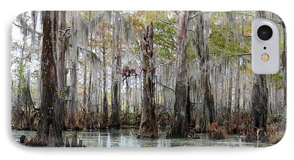 Down On The Bayou - Digital Painting Phone Case by Carol Groenen