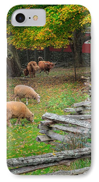 Down On The Farm 2015 IPhone Case by Bill Wakeley