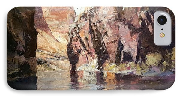 Down Stream On The Mighty Colorado River IPhone Case