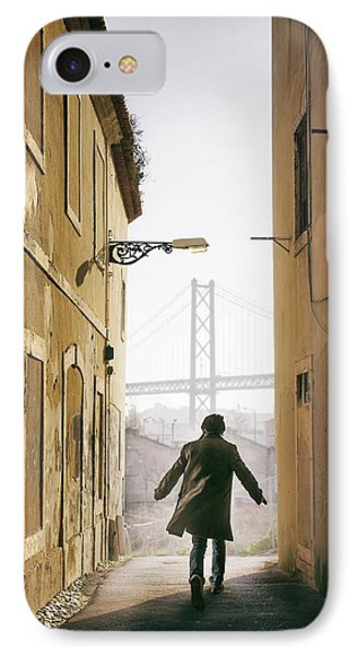 Down The Alley IPhone Case by Carlos Caetano