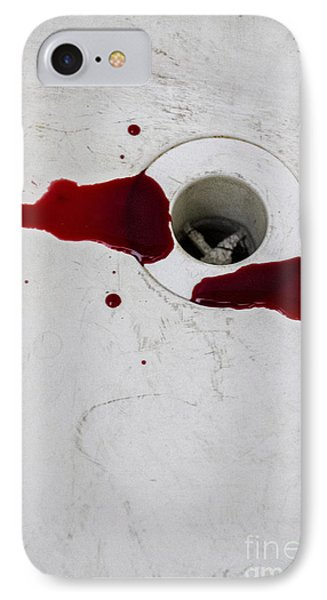 Down The Drain Phone Case by Margie Hurwich