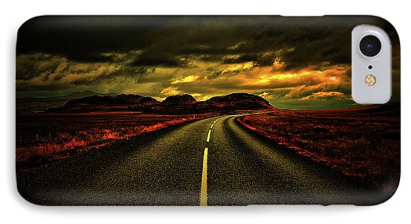 IPhone Case featuring the photograph Down The Road by Scott Mahon