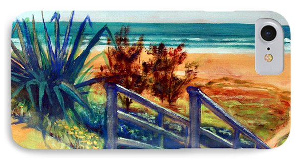 Down The Stairs To The Beach IPhone Case