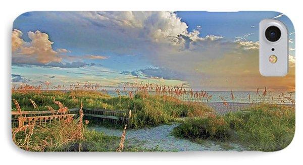 Down To The Beach 2 - Florida Beaches IPhone Case