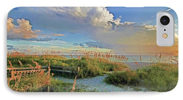 Down To The Beach 2 - Florida Beaches IPhone Case by HH Photography of Florida