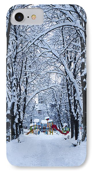 Down To The Park Phone Case by Rae Tucker