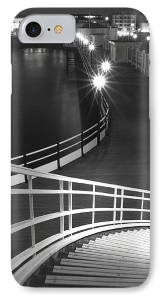 Down To The Pier IPhone Case by Hazy Apple