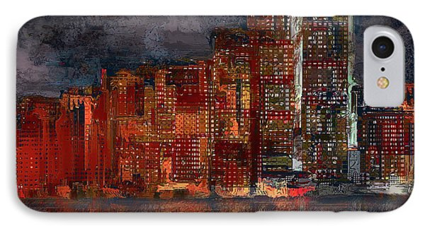 Downtown IPhone Case by Alex Galkin