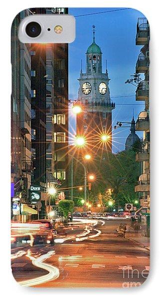 IPhone Case featuring the photograph Downtown by Bernardo Galmarini