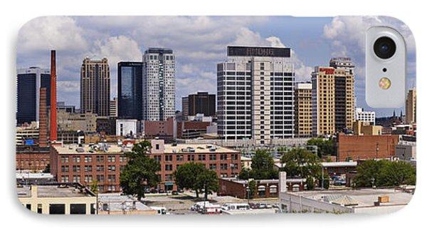 Downtown Birmingham Skyline Phone Case by Jeremy Woodhouse