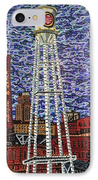 Downtown Durham Phone Case by Micah Mullen